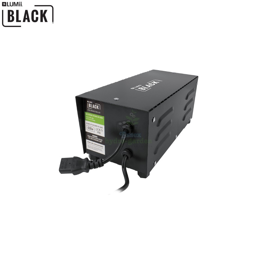 Lumii Black 600w Magnetic Ballast