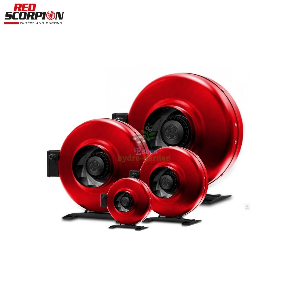 Red Scorpion Inline Fans